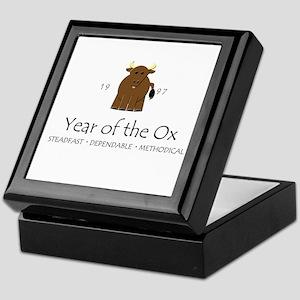 """Year of the Ox"" [1997] Keepsake Box"